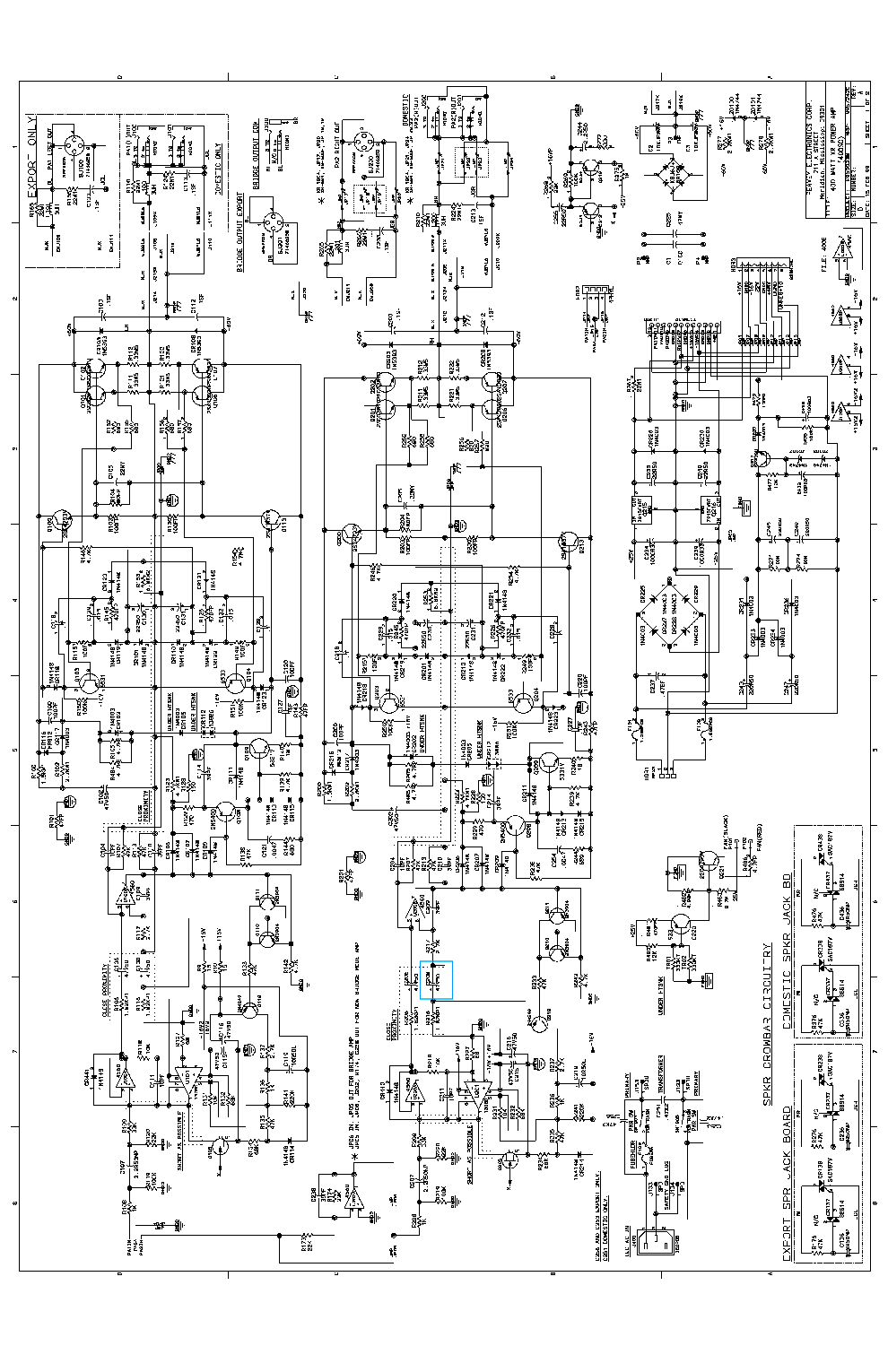 peavey subwoofer wiring diagram [wrg-6242] peavey 2000 power amp manual peavey horn wiring diagram