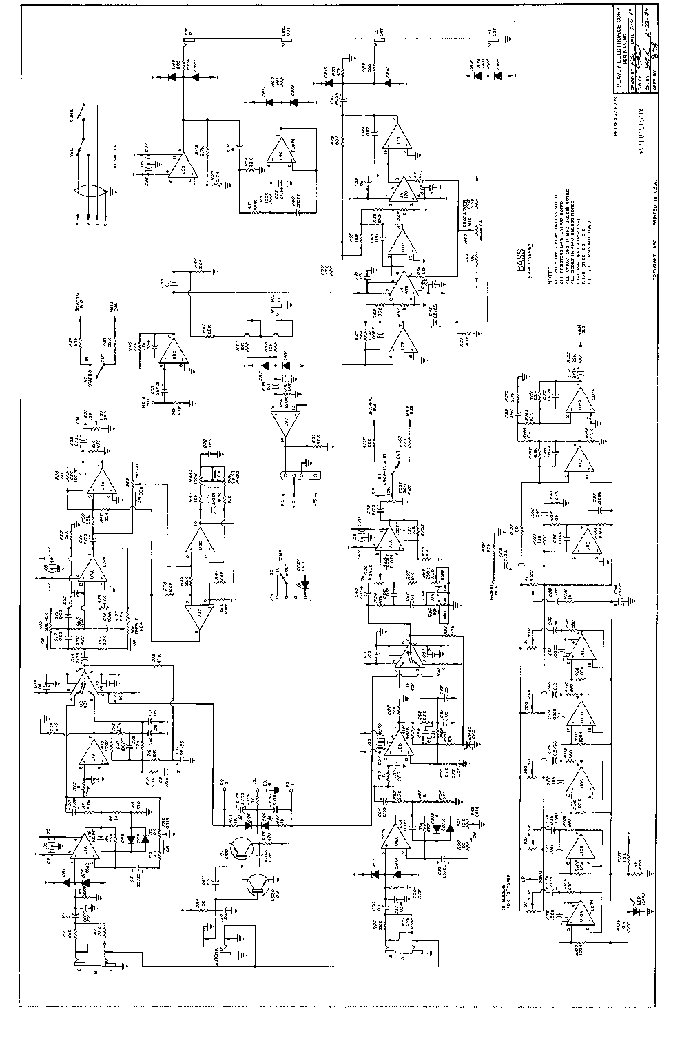 PEAVEY SUPREME XL Service Manual download, schematics, eeprom ...