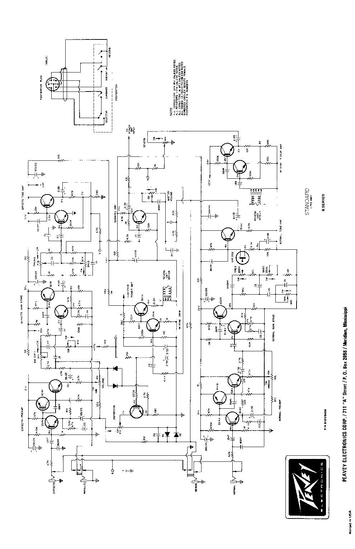 PEAVEY MIXER PV10 PV14 SCHEMATIC Service Manual download, schematics