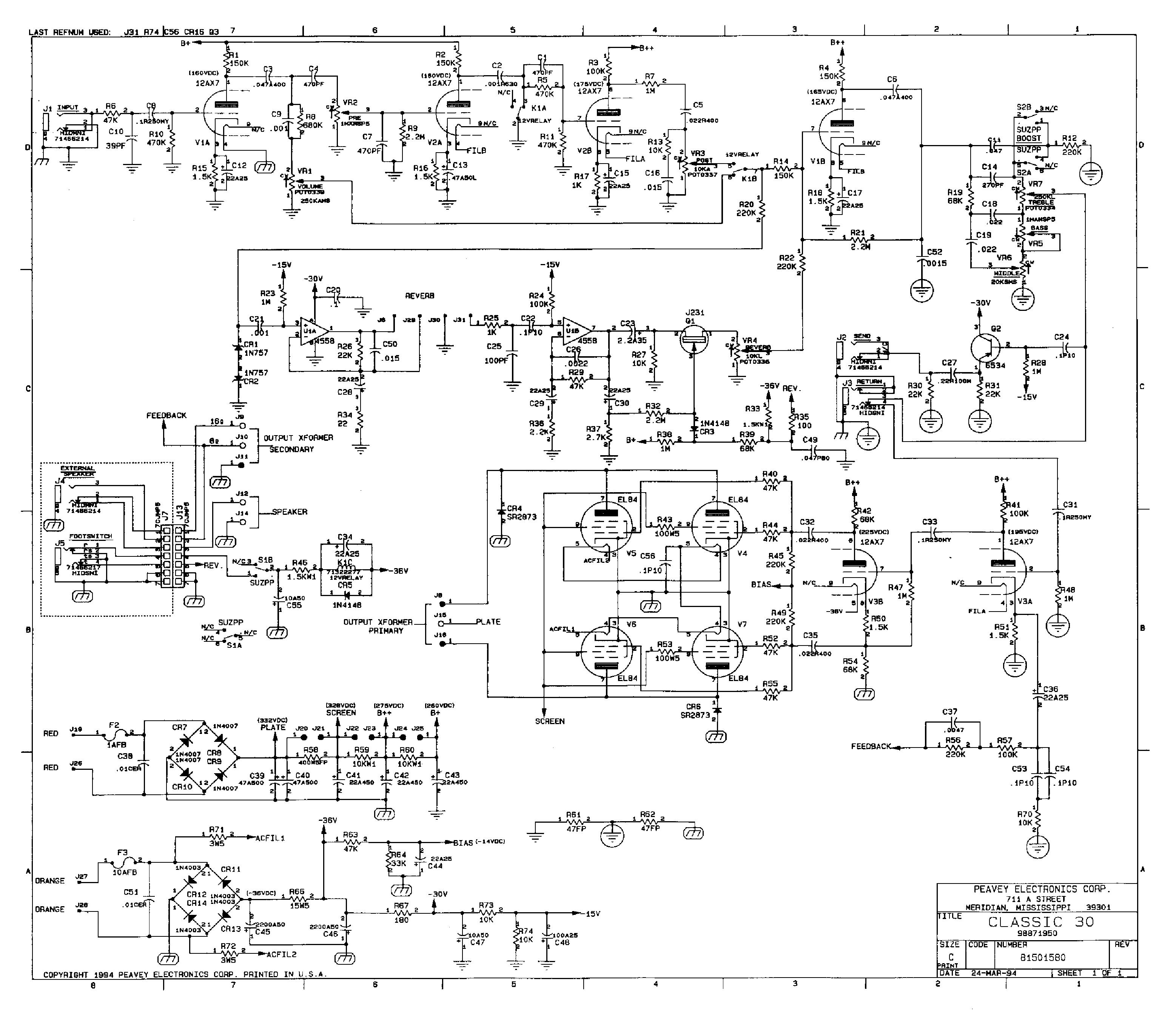 peavey impact wiring diagram peavey raptor wiring diagram