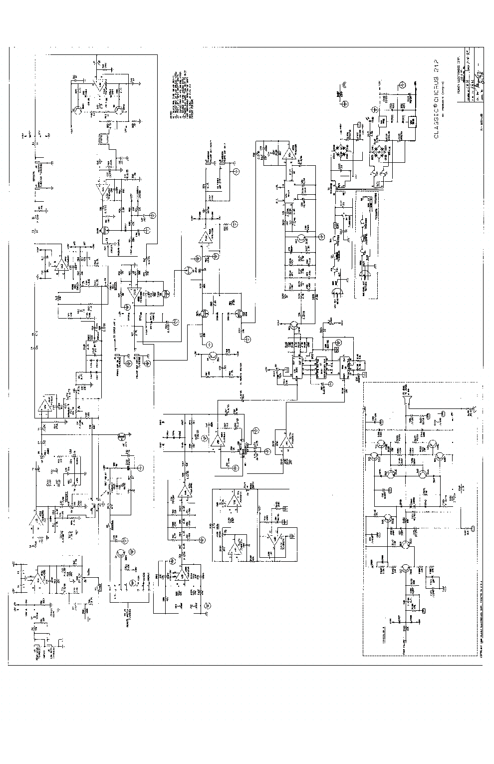 peavey amplifier wiring diagrams