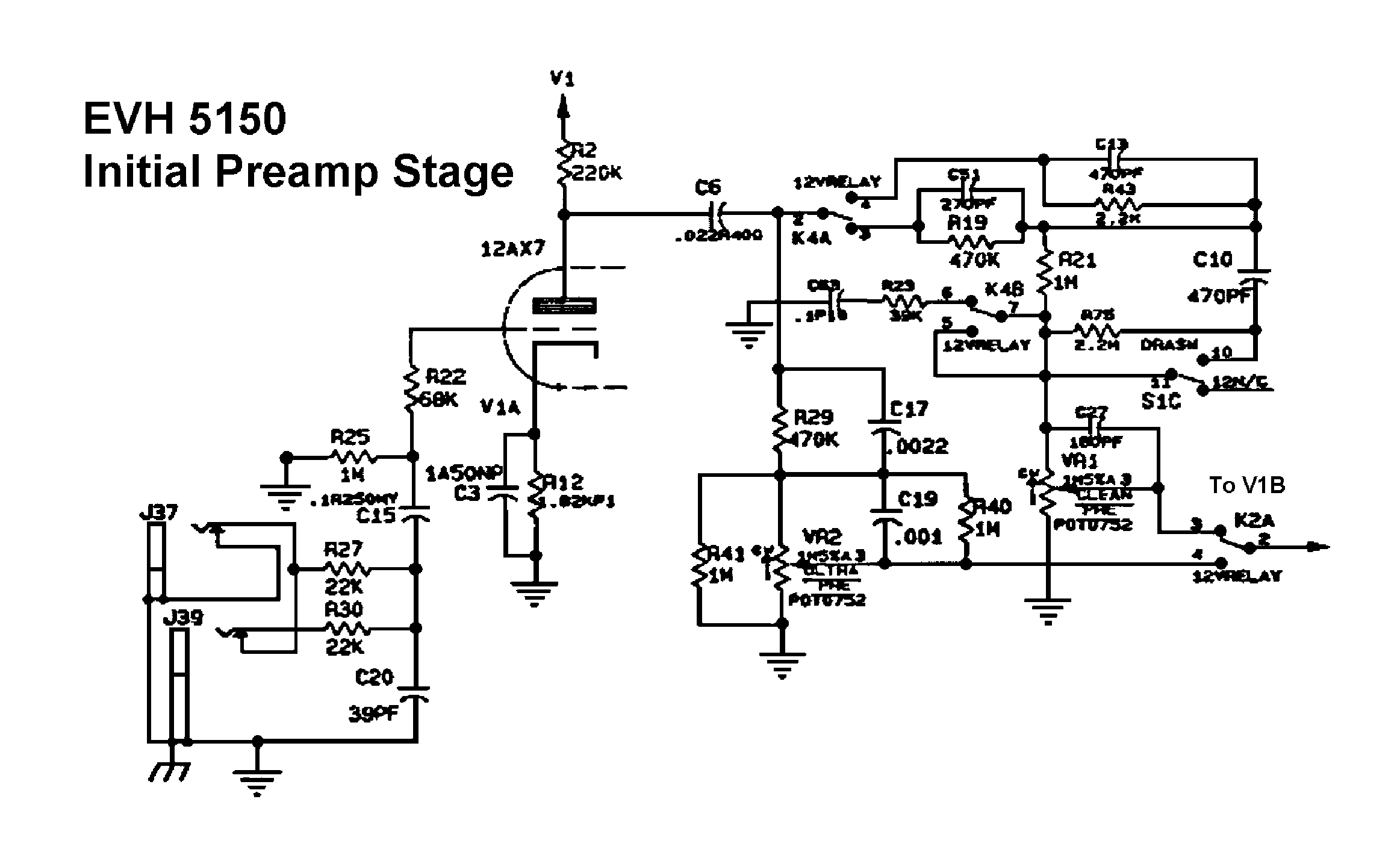 Perfect Peavey Rockmaster Schematic Pattern - Wiring Diagram Ideas ...