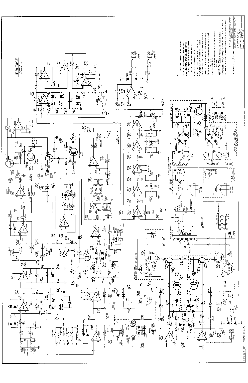 peavey heritage vtx schematic