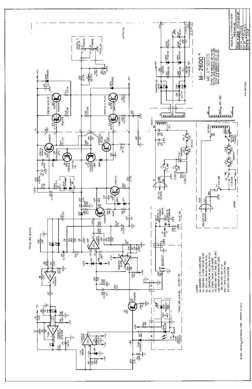 PEAVEY M2600 SCH