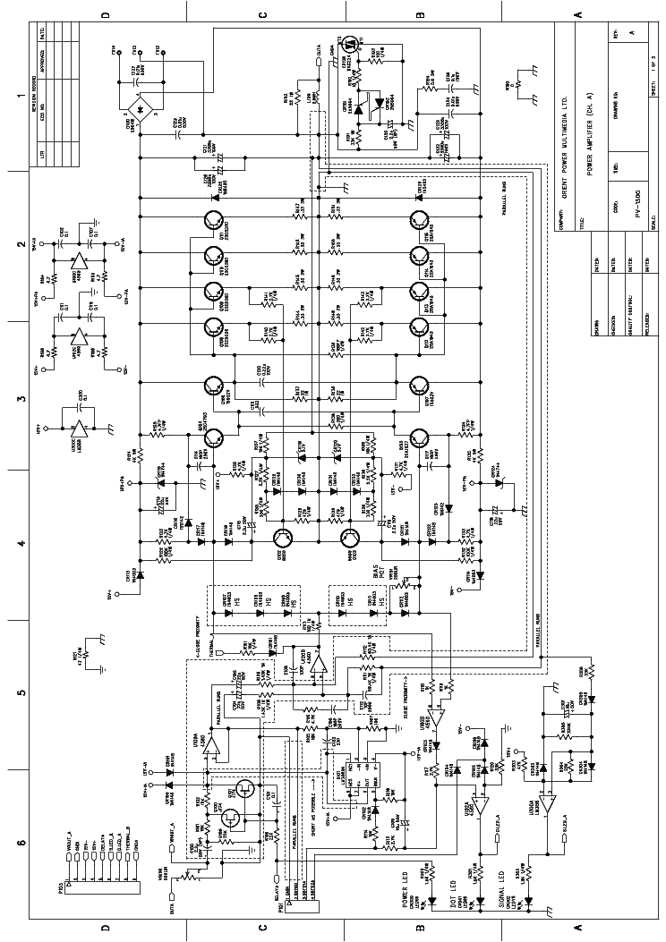 Peavey Pv 1500 Service Manual Download Schematics Eeprom