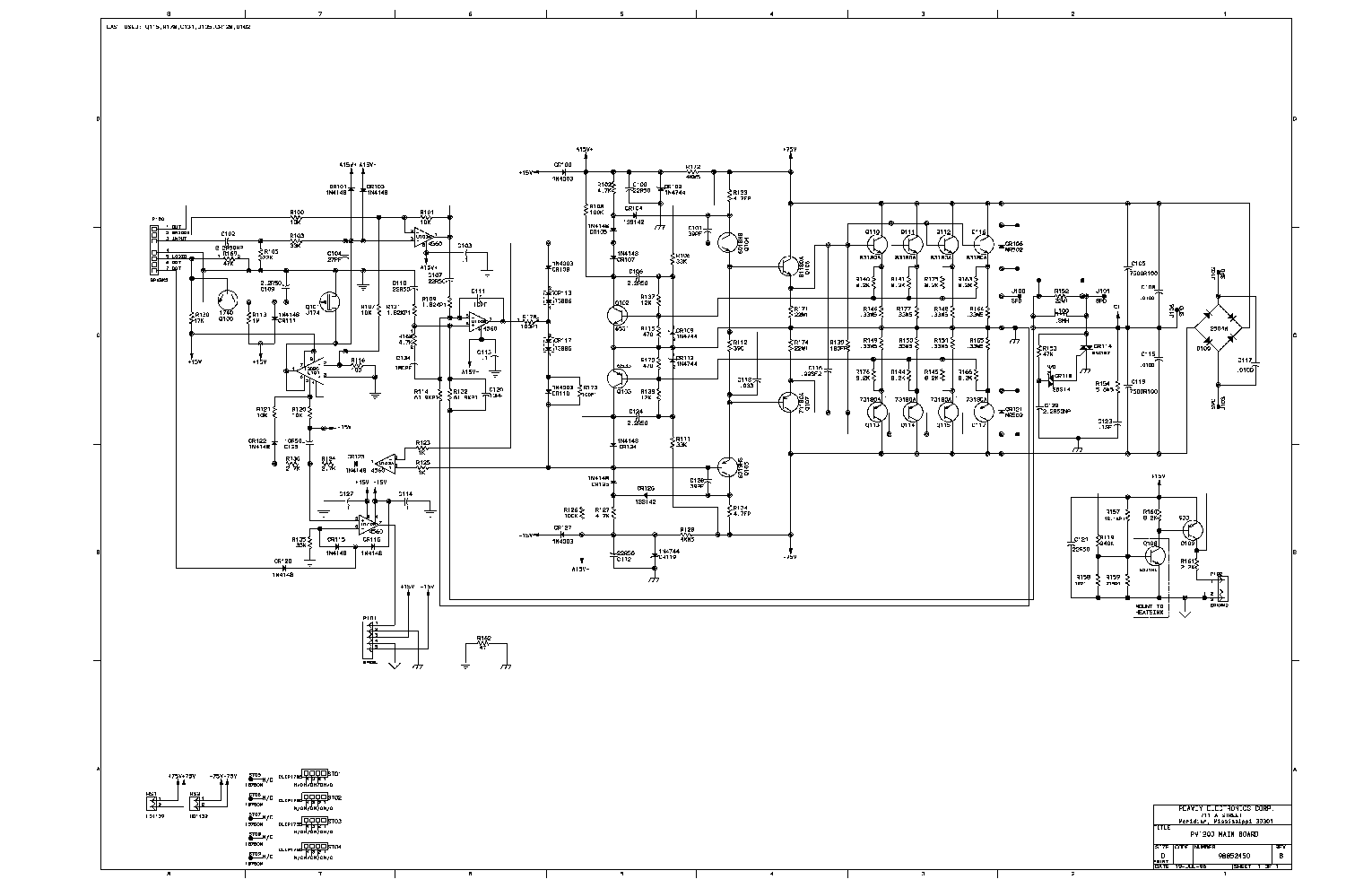 Wiring Diagram For Peavey Amplifier Page 5 And At Amp T U Verse Nid Jsx Schematic Enthusiast Diagrams U2022 Rh Rasalibre Co Head