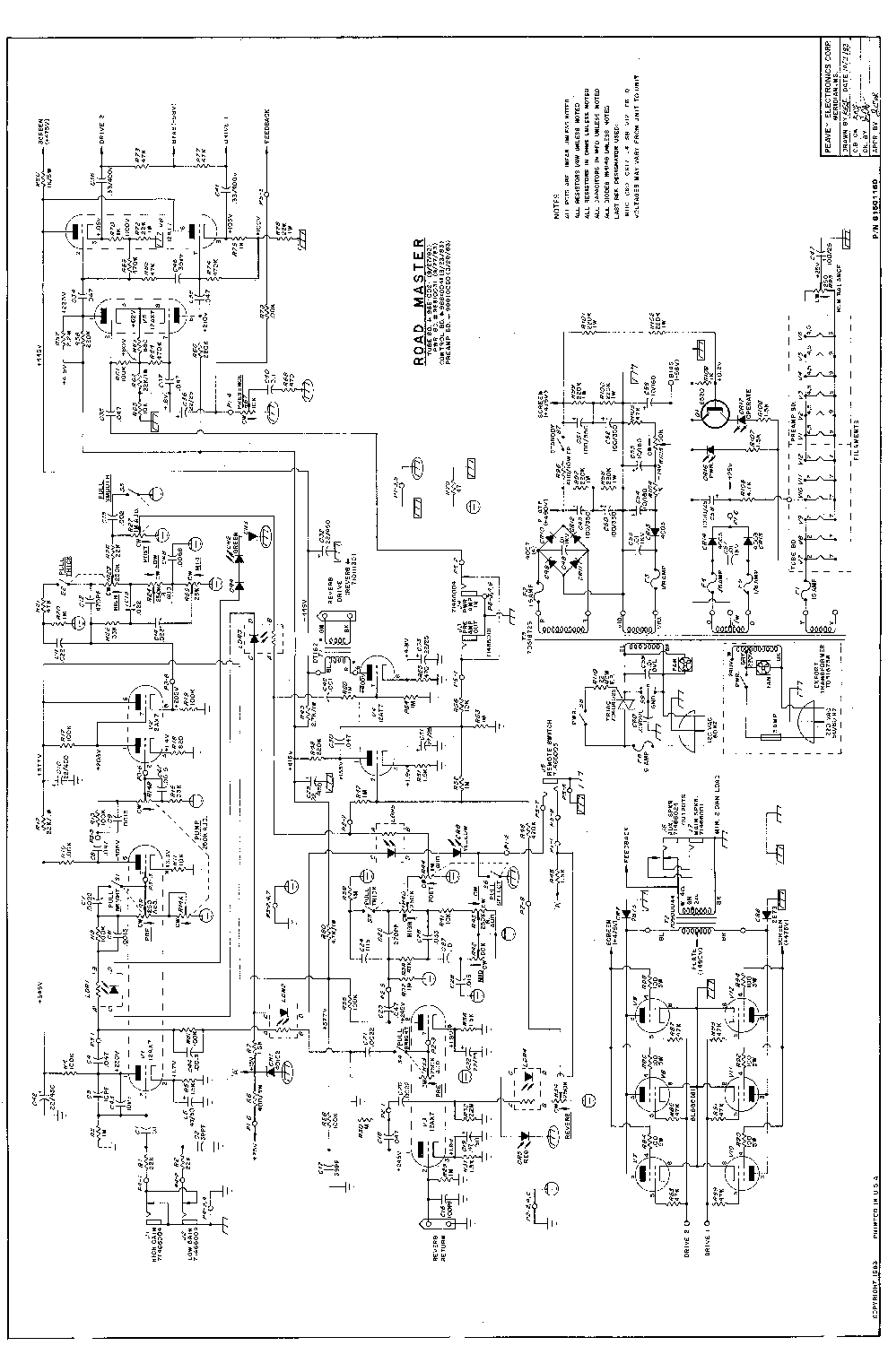 Peavey Patriot Wiring Diagram Peavey Free Download Wiring – Peavey T 60 Wiring Diagram
