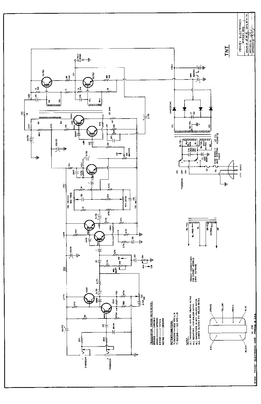 peavey pickups wiring diagram