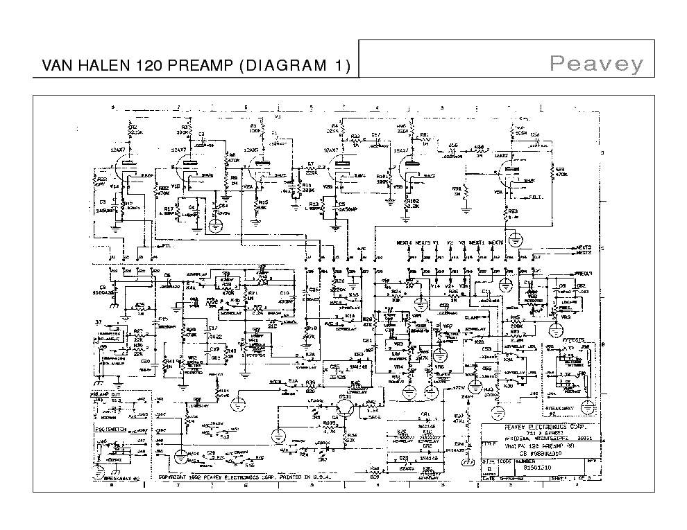 peavey lifier schematics peavey get free image about wiring diagram