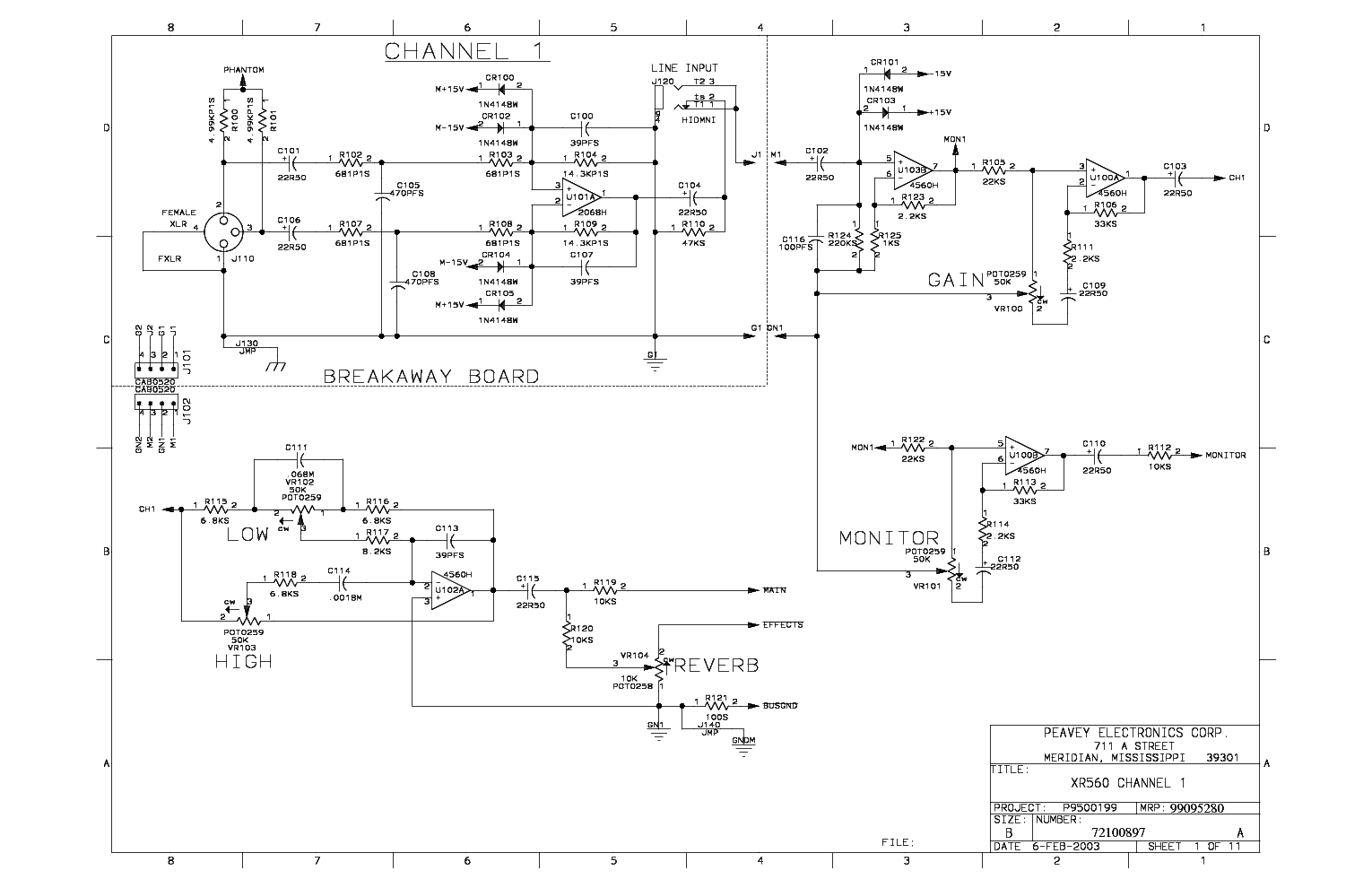 peavey xr 600b manual how to and user guide instructions u2022 rh taxibermuda co Peavey ValveKing Schematic Peavey Basic 112 Schematic