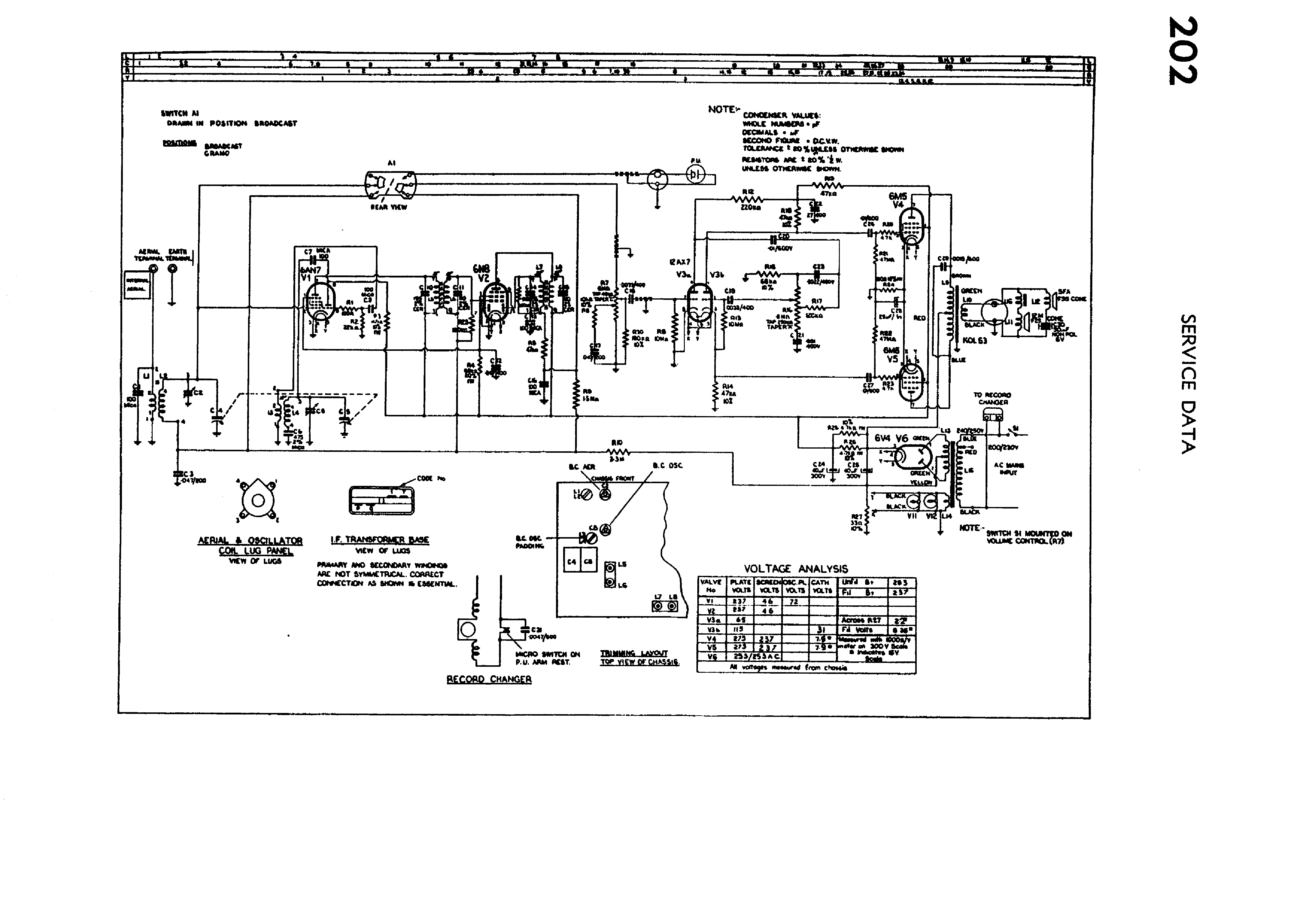 Philips 202 Service Manual Download  Schematics  Eeprom