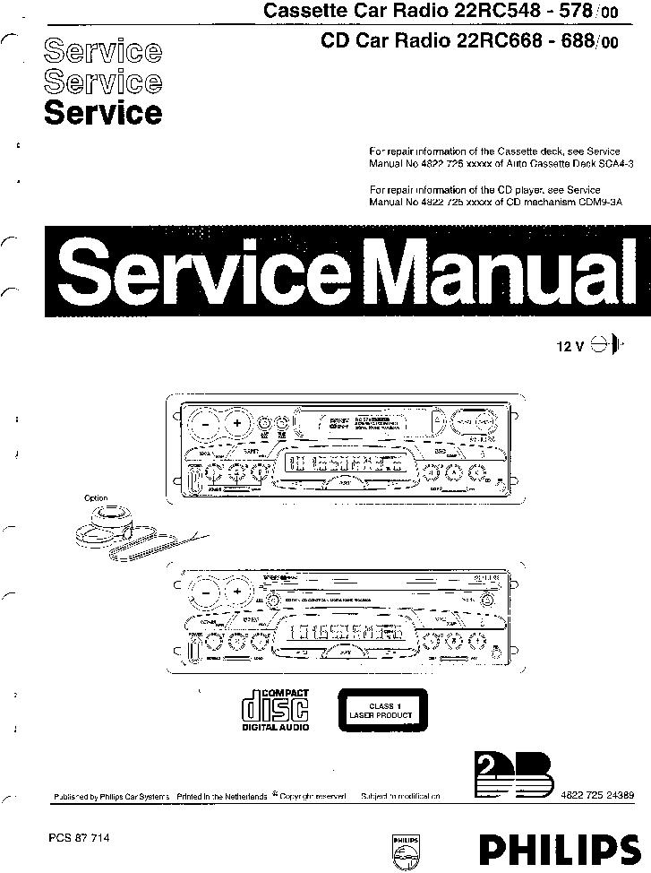 Philips 22rc548 578 Service Manual Download  Schematics