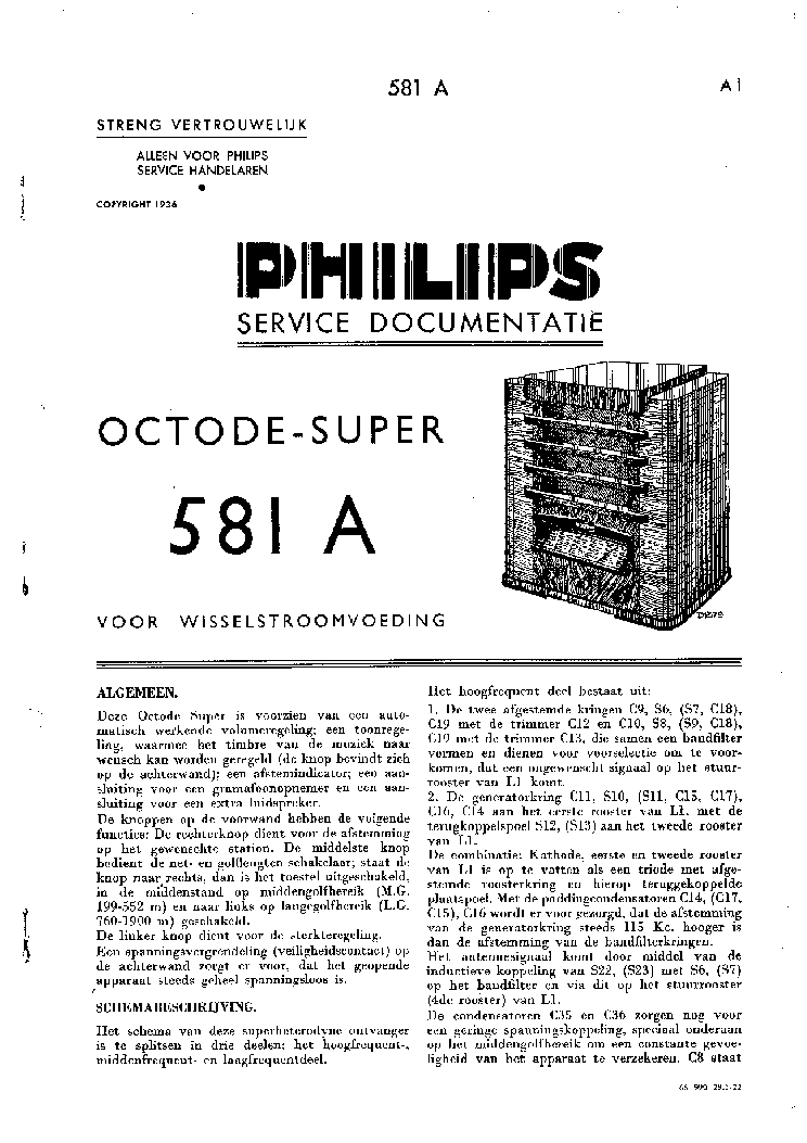 PHILIPS 581A