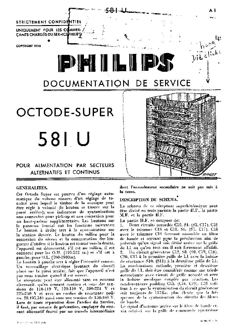 PHILIPS 581U