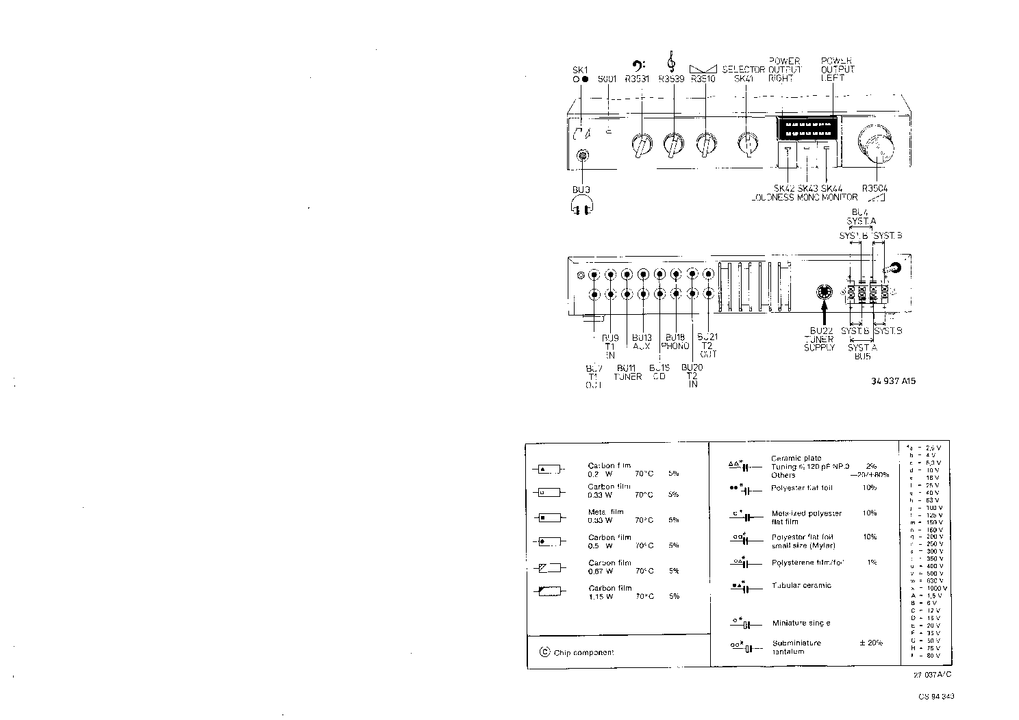 PHILIPS 70FA443 SM service manual (2nd page)