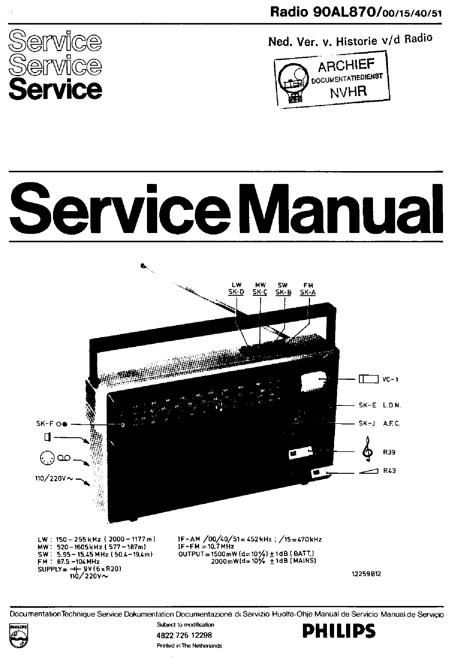 Philips 90al870