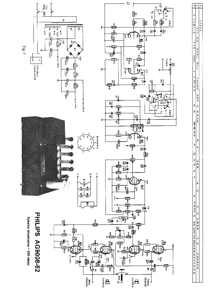 Philips El6415 00 35w Amplifier Sm Service Manual Download