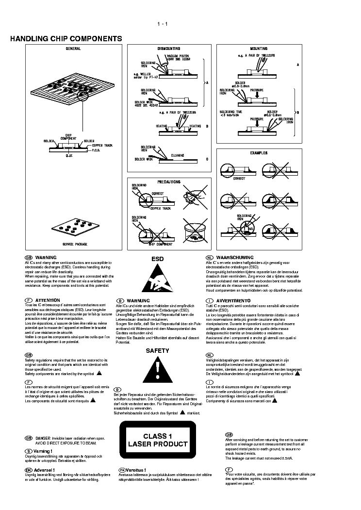 Philips Az2558 Cd Sound Machine Sm Service Manual Download