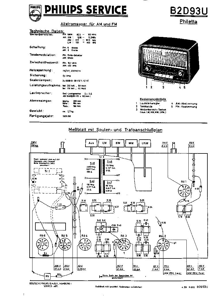 Philips B2d93u Am