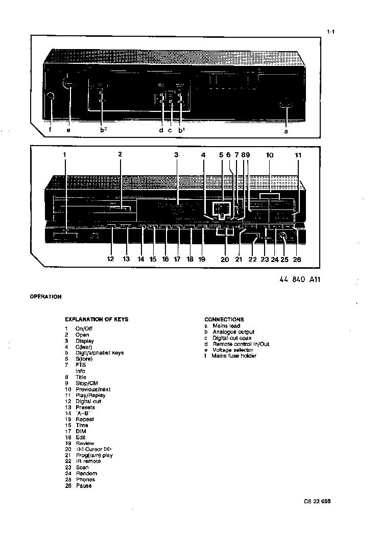 Philips Cd630 Cd