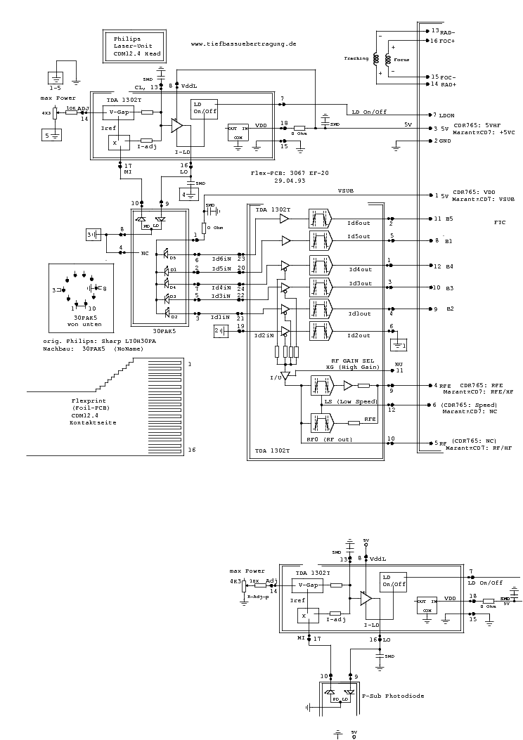 laser welding diagram philips cdm12.4 laser head sch service manual download ... laser head diagram