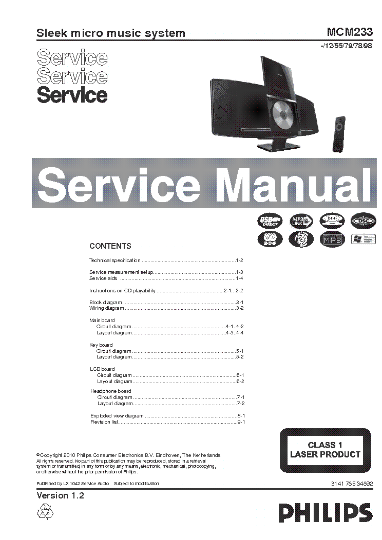 philips mcm233 ver1 2 service manual download schematics eeprom rh elektrotanya com 250 MCM Wire MCM Backpack