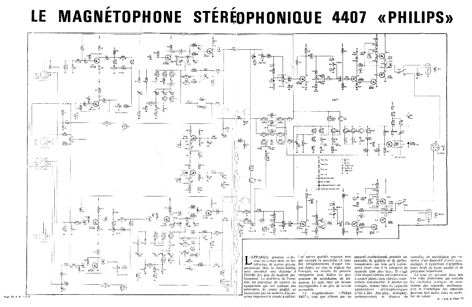 Philips N4407 Service Manual Download  Schematics  Eeprom