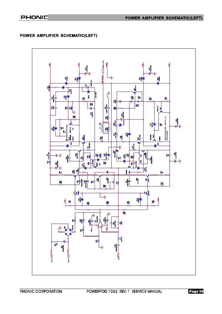 Phonic 780 plus schematic needed.
