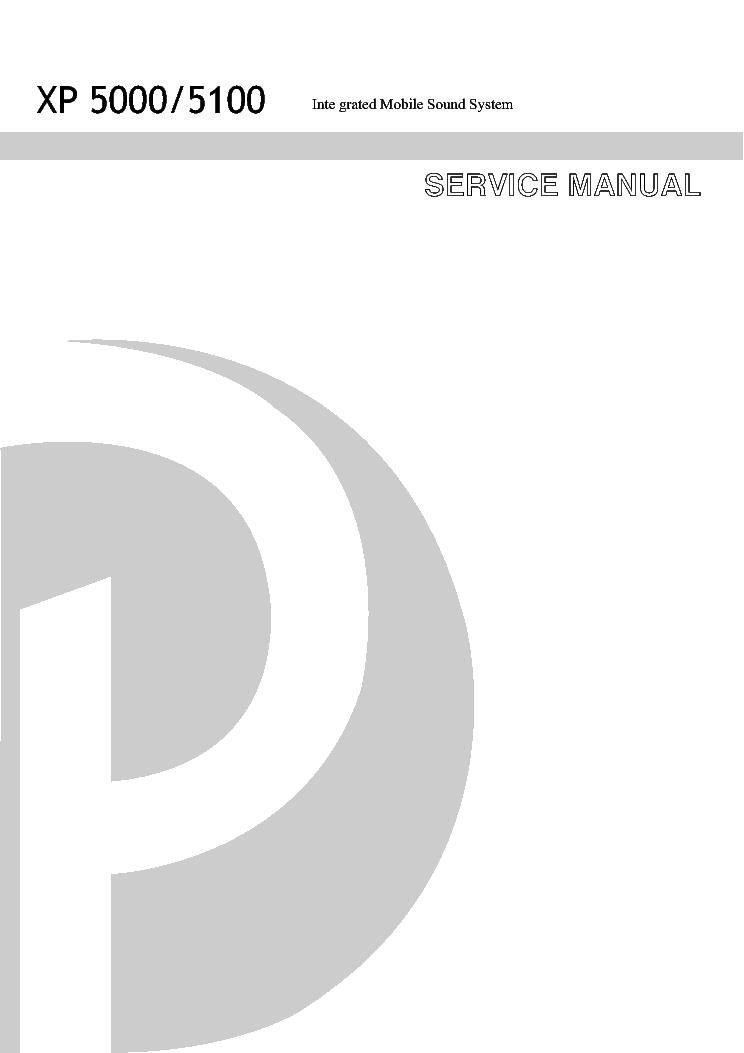 Phonic xp 5000 5100 service manual download, schematics, eeprom.