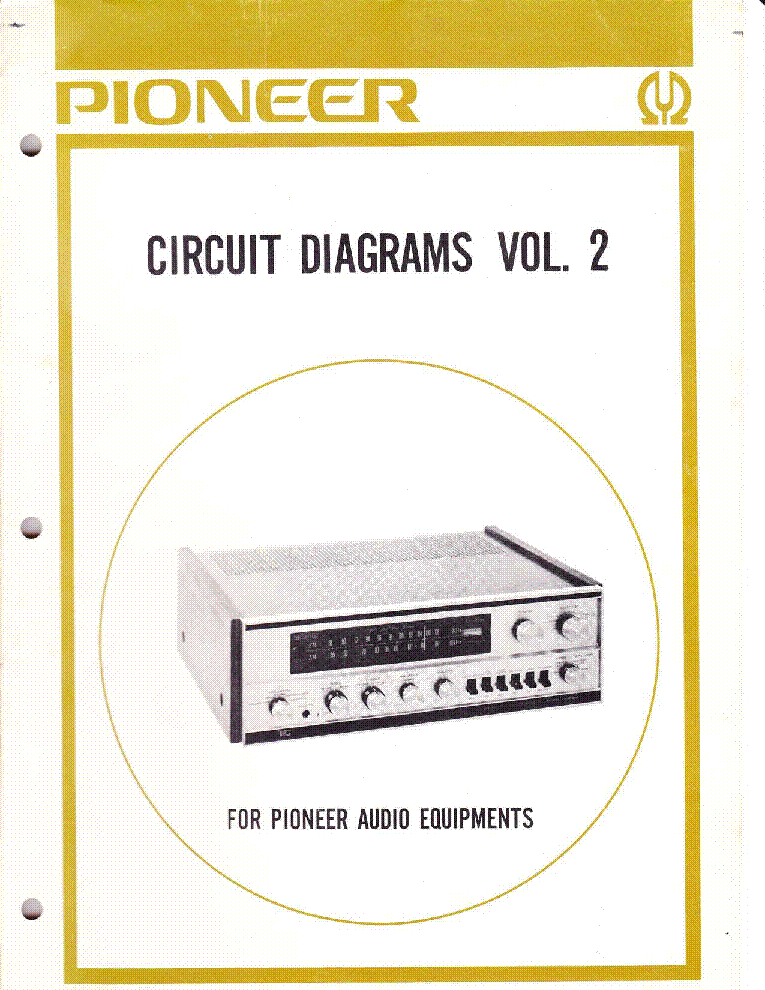 pioneer circuit diagrams volume 2