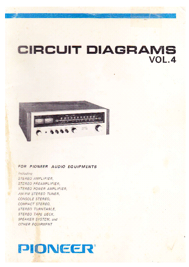 pioneer circuit diagrams volume 4