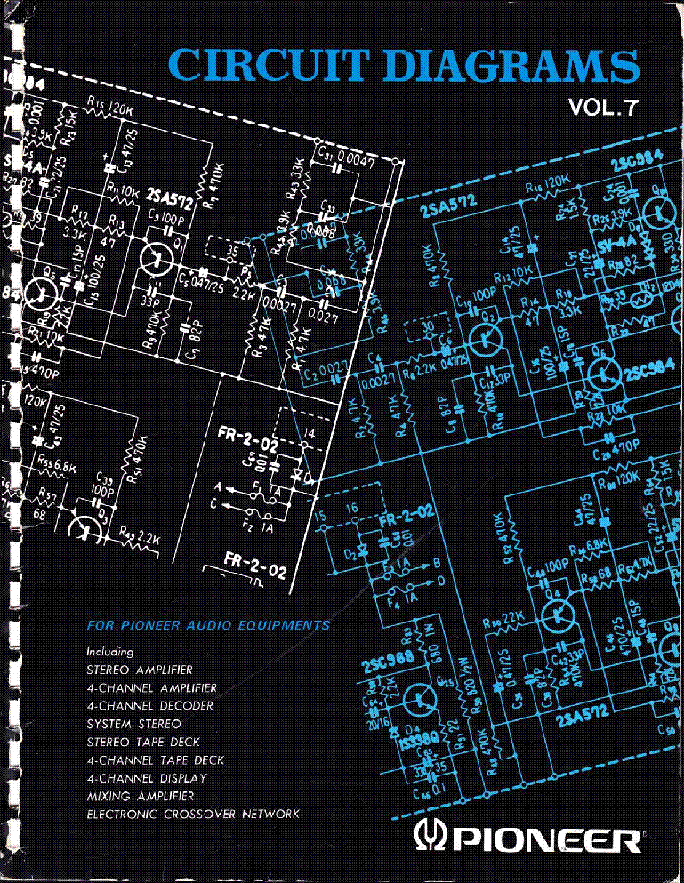 pioneer circuit diagrams volume 7