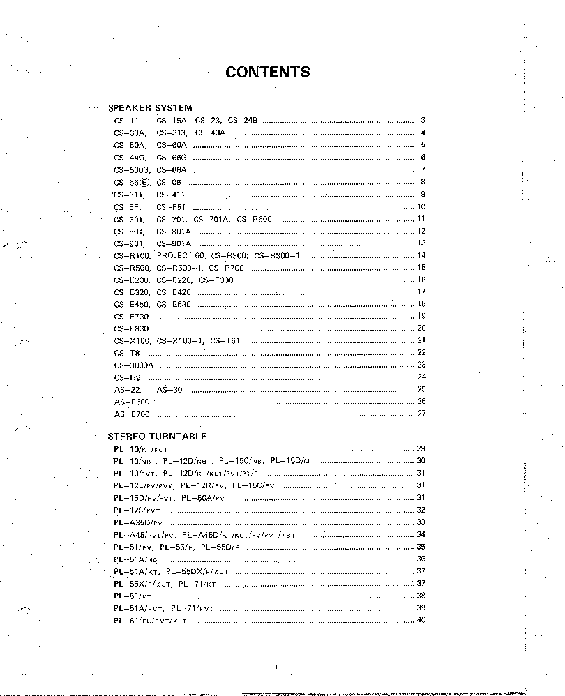 PIONEER CIRCUIT DIAGRAMS VOLUME 8 service manual (2nd page)