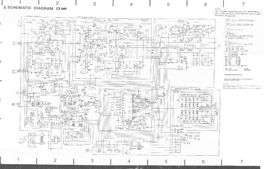 pioneer kp 500 schematic diagram