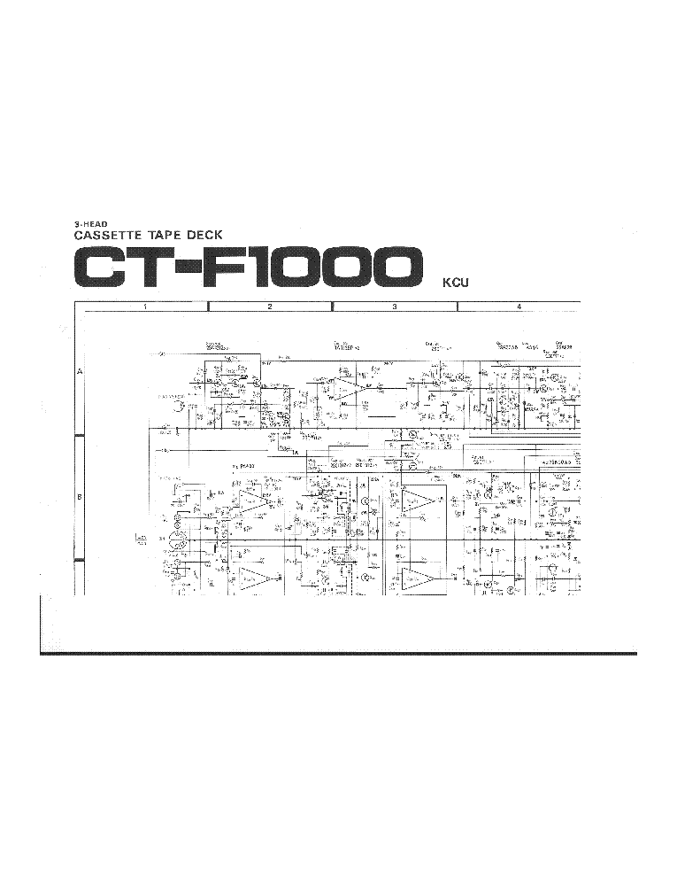 download pioneer ct f1000 service manual