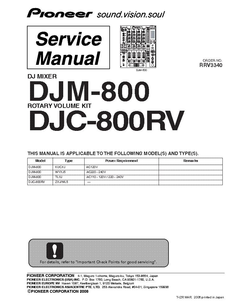 pioneer djm 800 wiring diagram pioneer image pioneer djm 800 p1 sm service manual schematics on pioneer djm 800 wiring diagram