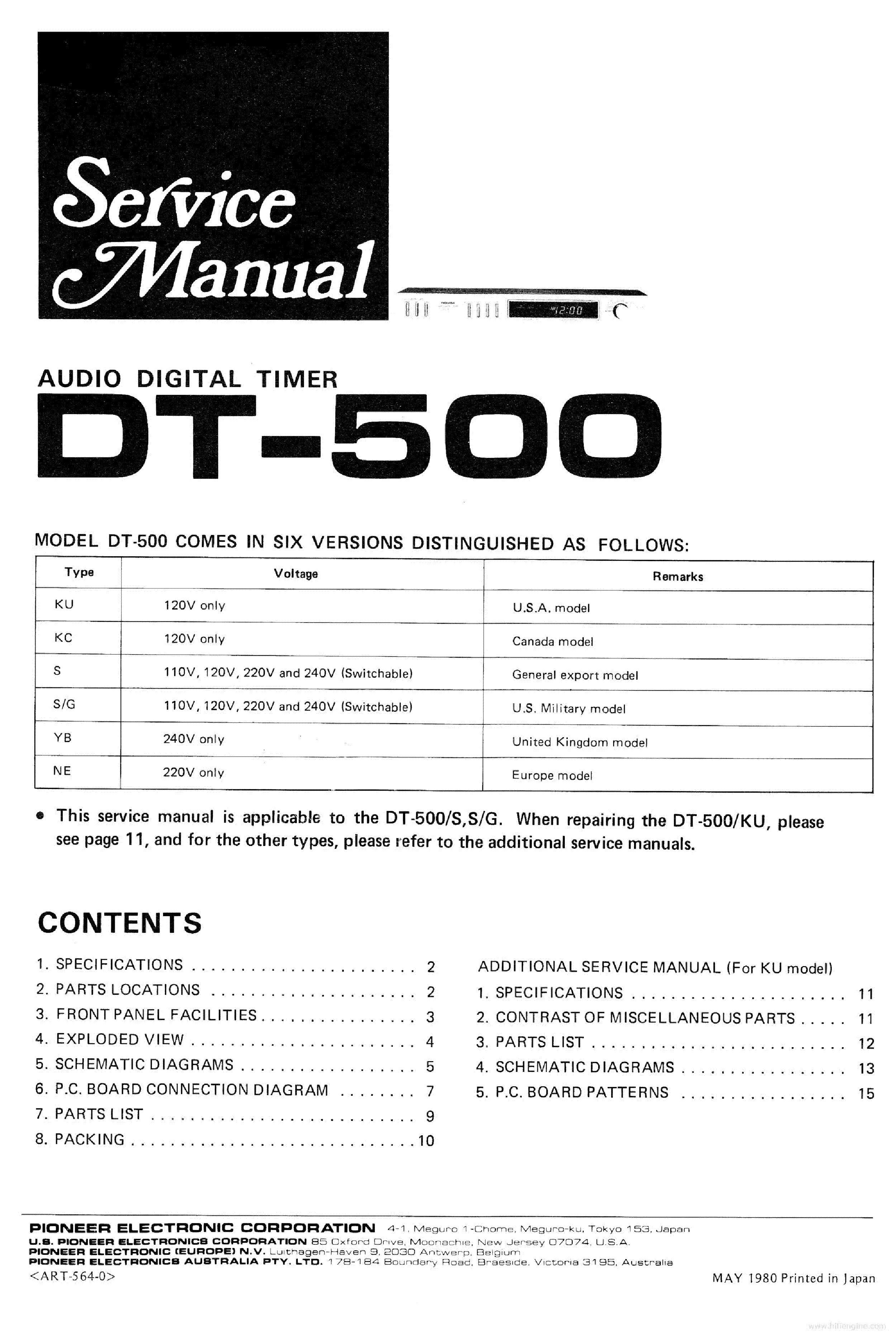 инструкция pioneer dt