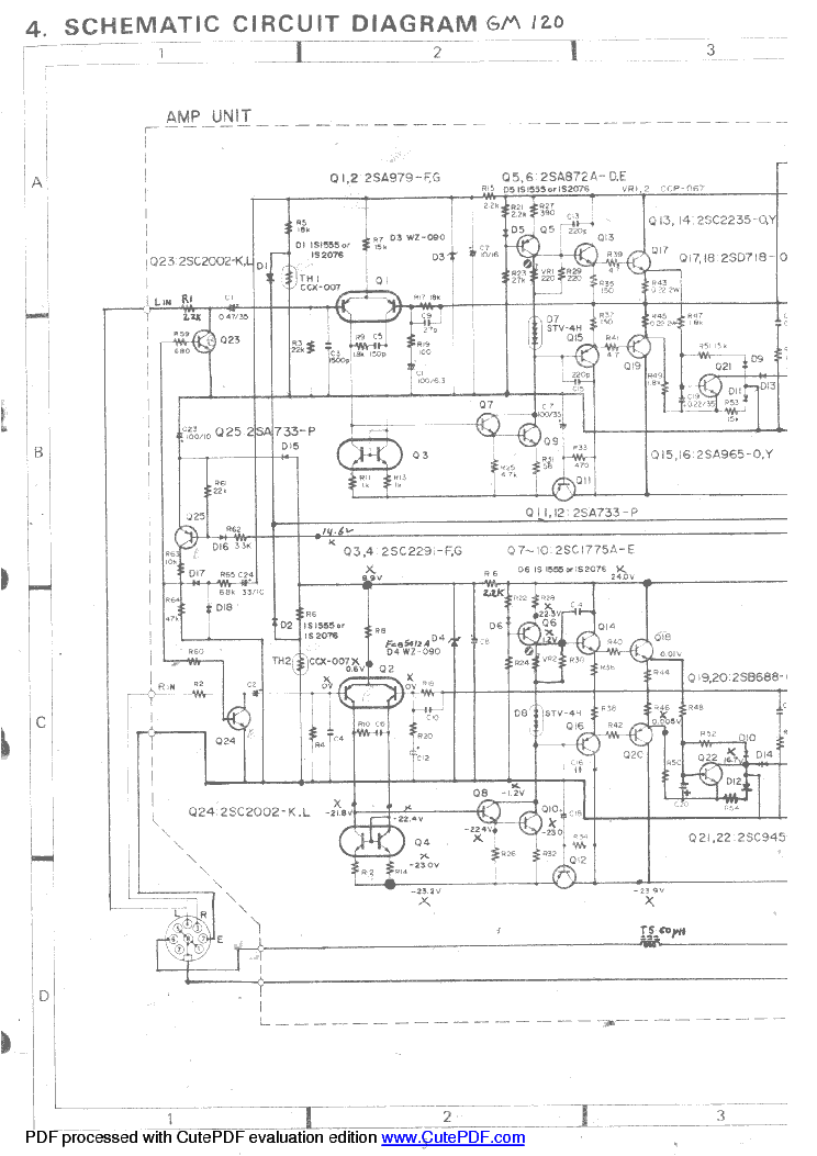 radio wire diagram toyota fj