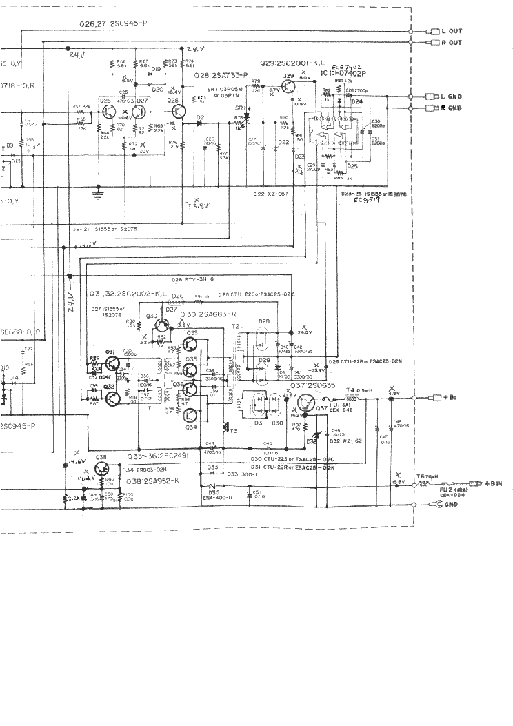 PIONEER GM-120 SCHEMATIC service manual (2nd page)