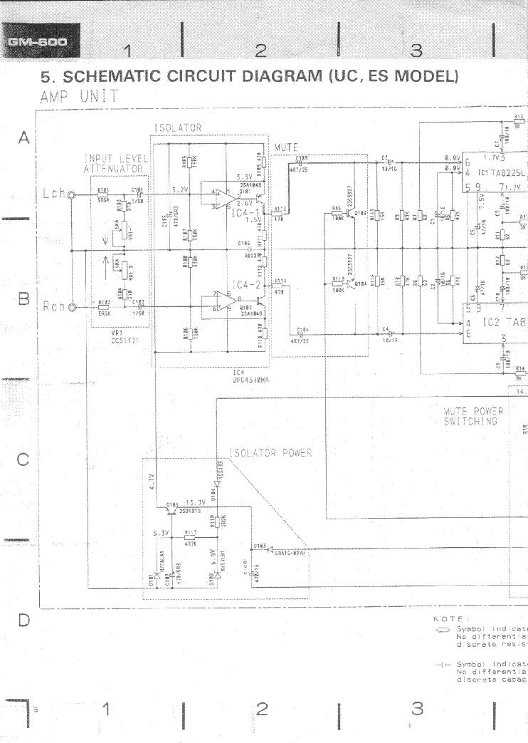 pioneer gm 600 sch service manual download schematics eeprom rh elektrotanya com