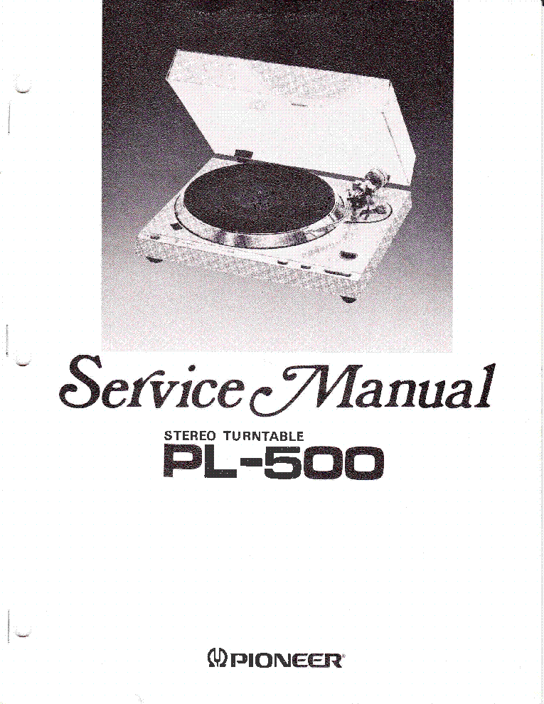 pioneer_pl 500_turntable.pdf_1 pioneer vsx 305 wiring diagram pioneer stereo wiring, pioneer pioneer vsx 305 wiring diagram at couponss.co