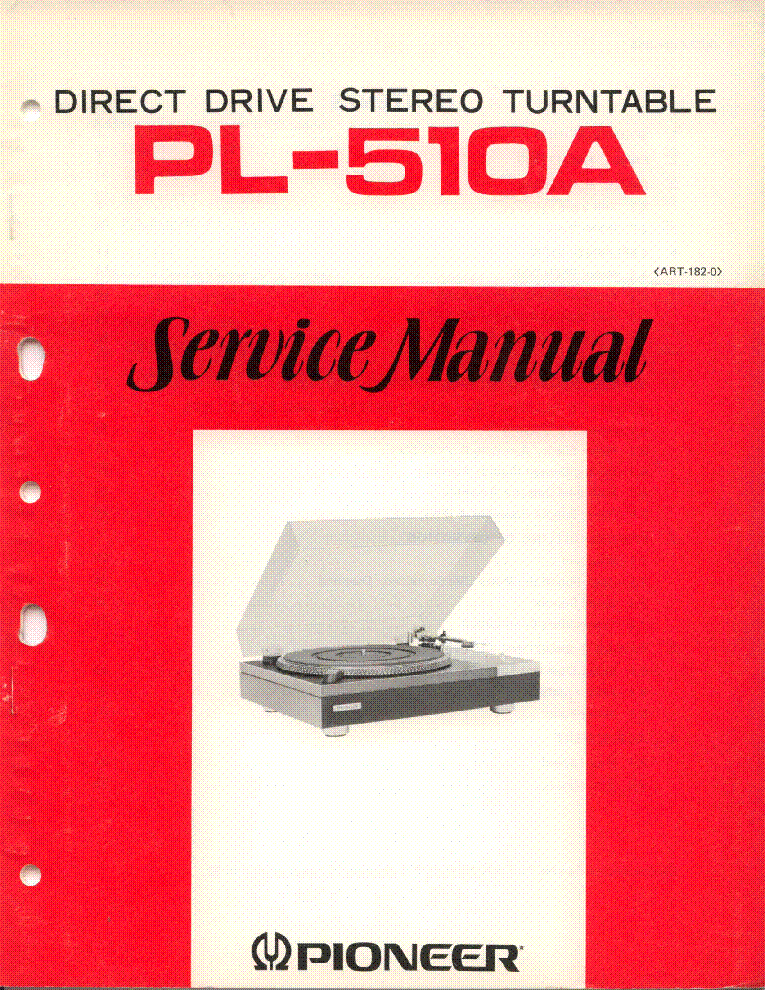 Pioneer pl 510a service manual download schematics eeprom repair pioneer pl 510a service manual 1st page fandeluxe Choice Image