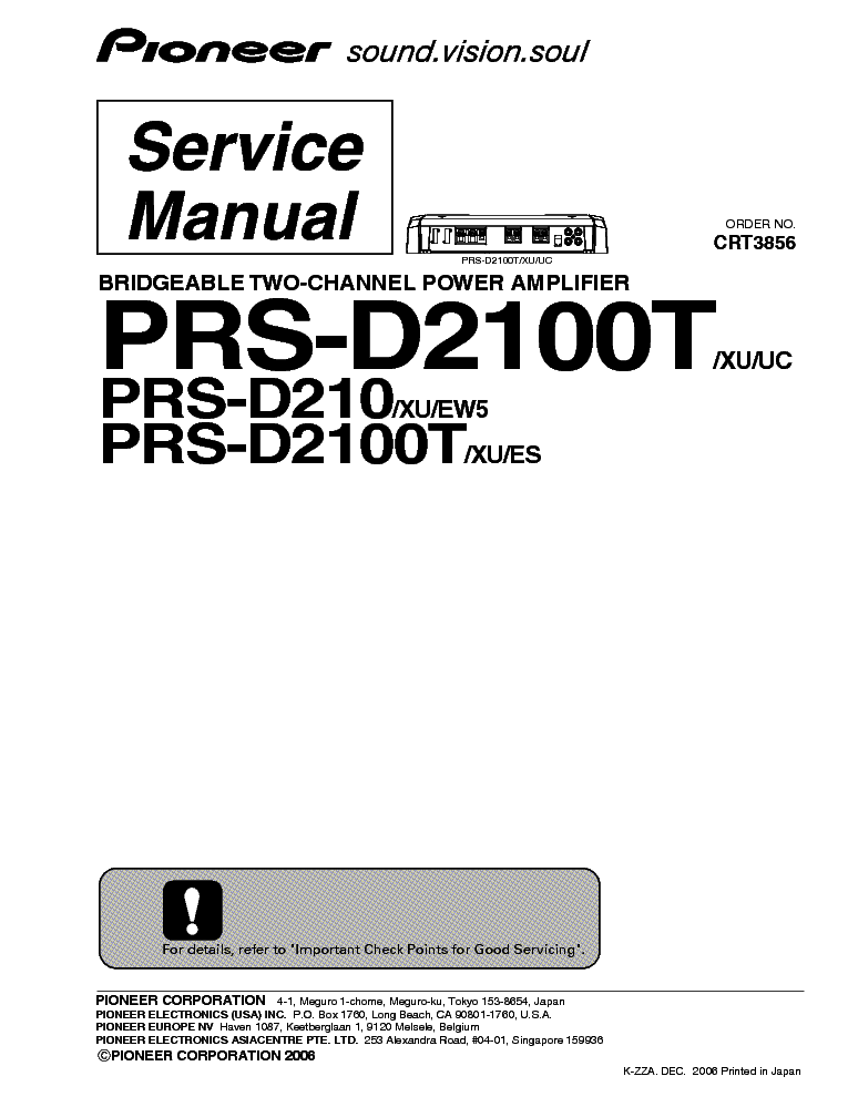 pioneer pd s502 service manual free schematics eeprom repair info for electronics