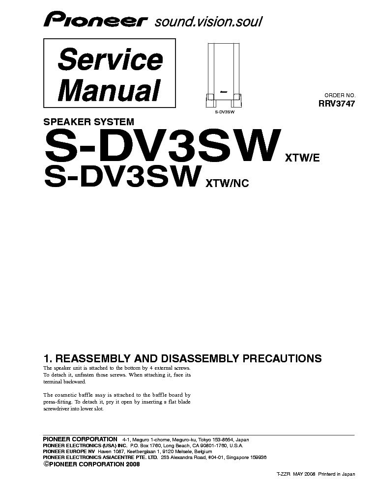 Pioneer vsx d710s rrv2432 sm service manual download schematics pioneer fandeluxe Choice Image
