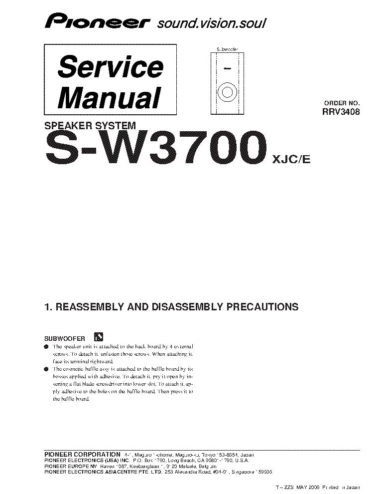 pioneer vsx 453 vsx 403 vsx 463s service manual download schematics rh elektrotanya com VSX Logo pioneer vsx-453 service manual