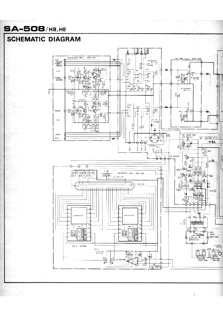 pioneer sa 508 sch service manual download schematics eeprom repair info for electronics experts. Black Bedroom Furniture Sets. Home Design Ideas