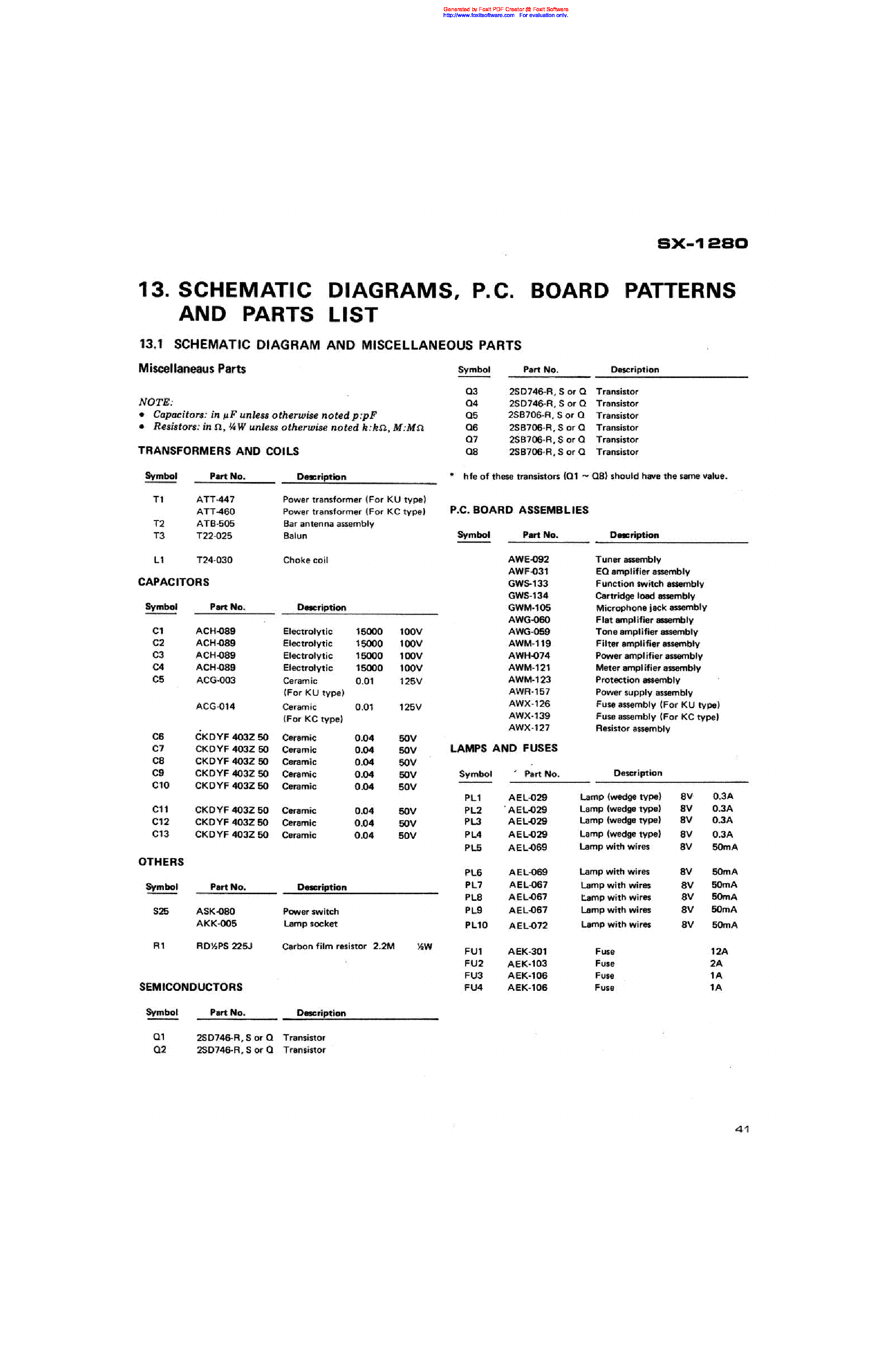 Compaq 1280 Seriesputer Schematic Diagram Manual