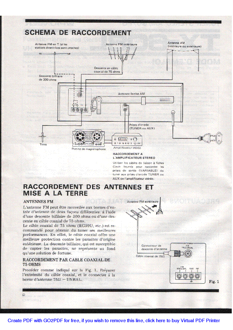 PIONEER TX-608L SM service manual (2nd page)