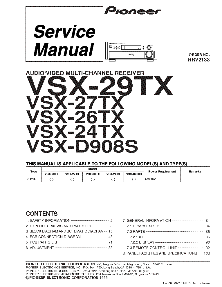 pioneer_vsx 24tx_vsx 26tx_vsx 27tx_vsx 29tx_vsx d908s_sm.pdf_1 simple wiring diagram pioneer vsx 305 pioneer parts diagram pioneer vsx 305 wiring diagram at couponss.co