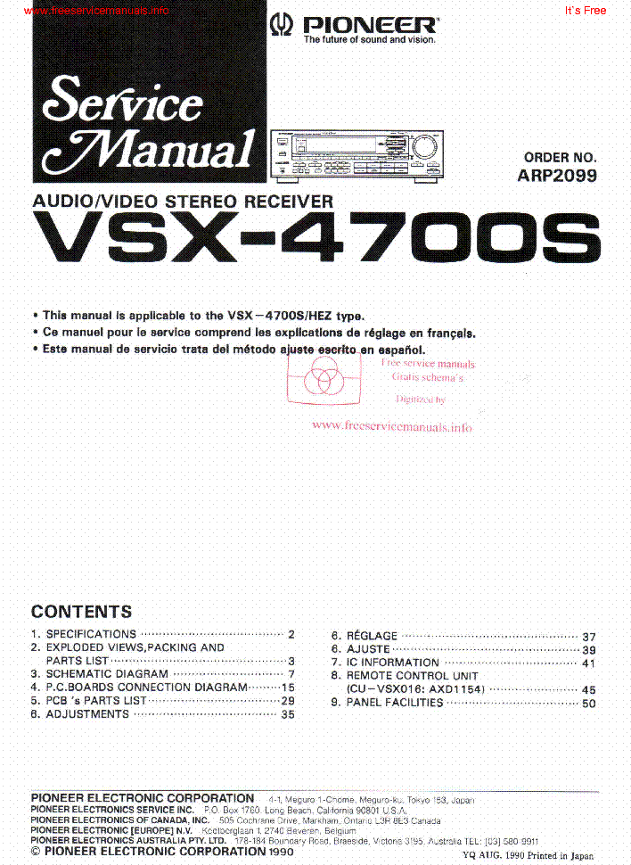 Amazing Pioneer Cdj 850 Service Manual Download Schematics Eeprom Repair Wiring 101 Capemaxxcnl